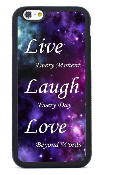 Live Laugh Love Cellphone Case Cover for iPhone 4 4s 5 5s 5c 6 6s plus Samsung Galaxy S3 S4 S5 S6,Samsung Galaxy Note2 Note3 Note4 Note5 Case Cover iPod Touch 4 Case,iPod Touch 5 Case